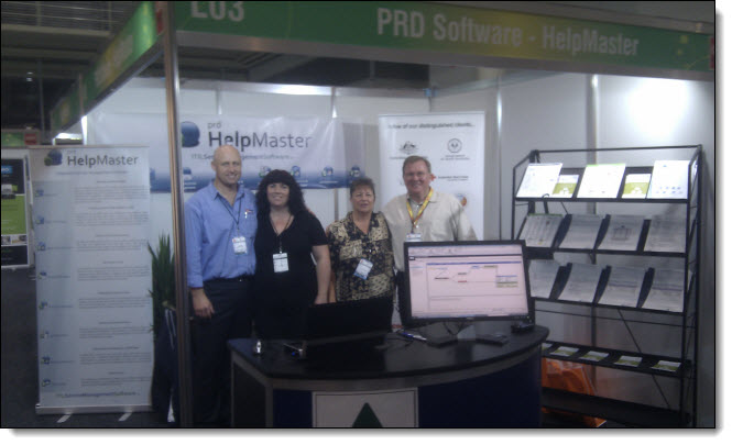 Helpdesk software tradeshow