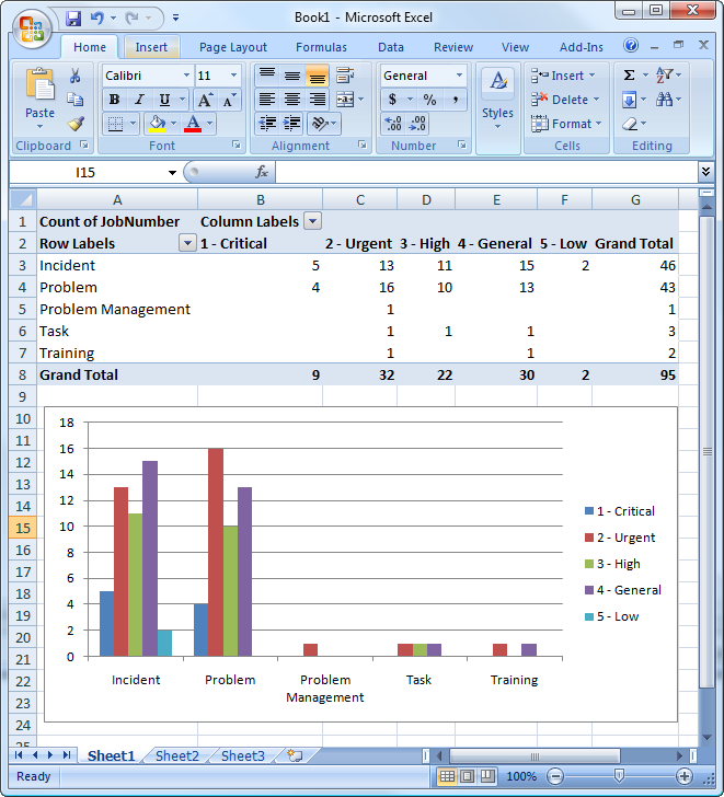 excel reporting template
