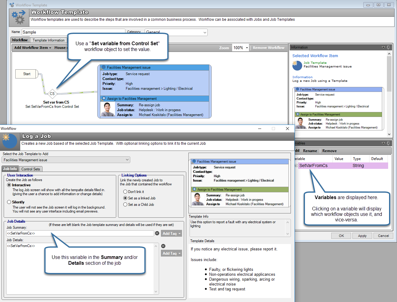 ITSM workflow multi-stage incident creation