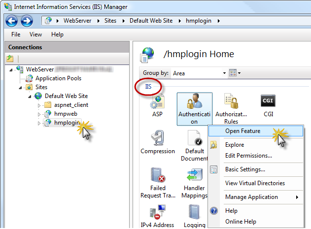 how to create virtual directory in iis 8