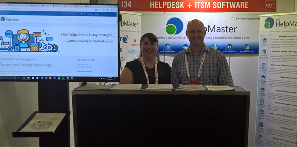 PRD Software HelpMaster ITSM CeBIT Sydney