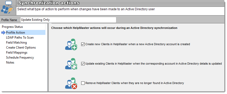 active directory single sign on service desk