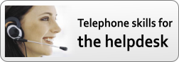 professional telephone skills for the helpdesk